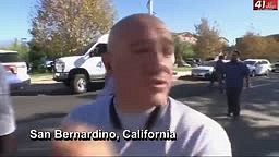 San Bernardino shooting WITNESS saw three WHITE Males with guns