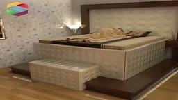 WATCH: Earthquake resistant Bed designed to CLOSE YOU UP INSIdE!!!
