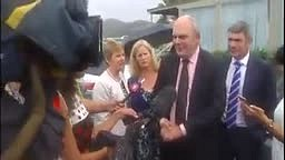 LOL! Politician Smacked In The Face With A Flying Dildo During Interview