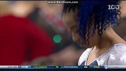 Sophina DeJesus Combines Hip Hop Dancing  with Gymnastics Routine UCLA Floor 2016 vs Utah 9.925