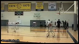 Stephen Curry All Star 3 Point Contest Practice