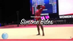 Congratulations to Simone Biles, who is now the most titled female gymnast in history!