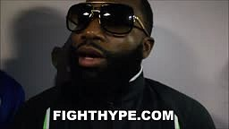 ADRIEN BRONER TO FLOYD MAYWEATHER THAT BIG BRO SHIT IS OUT...IF WE DO FIGHT, HE WON'T BE 50 AND 0