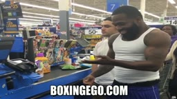 Adrien Broner THROWS MONEY at WALMART cashier I DON'T NEED NO CHANGE BRAH!_ out moving car