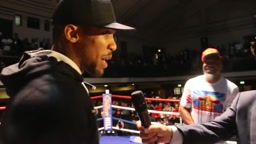 WHEN ANTHONY JOSHUA MET SHANNON BRIGGS!