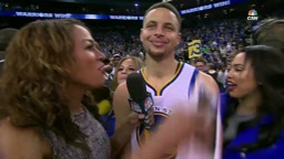 [Watch] Don't Get Too Close to Ayesha Curry's Man