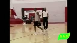 Michael Jordan (Retired, Age 36) Vs. Corey Benjamin (Rookie, Age 21) + Interview (November 11, 1999)
