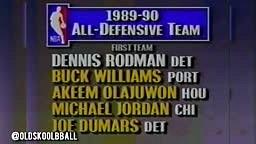 Michael Jordan's Revenge vs Dennis Rodman (1990)