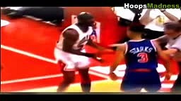 TOP 10 Fights in NBA Playoffs History!