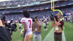 Fans Heckle And Curse At Colin Kaepernick As He Walked Into Tunnel Before Preseason Game