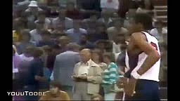 Michael Jordan (Age 19) _ USA vs EUROPE All-Stars! (1982) RARE!!!