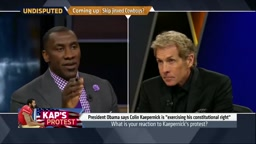 Shannon Sharpe defends Colin Kaepernick sitting for the National Anthem