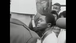 An INTENSE convo between a young black activist & a police officer in Selma