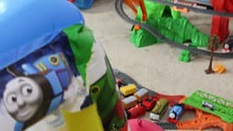 Thomas and Friends GREAT RACE SURPRISE Balloon party for J funk Disney Car Toys Take n Play Trains Fun