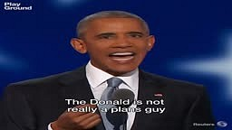 President Obama tears Trump apart in 40 seconds!
