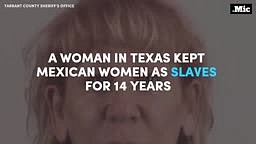 White Woman in Texas kept Mexican Women as Slaves for 14 years!