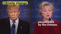 At Monday's debate, Trump denied saying a lot of the things he's said. Let's set the record straight