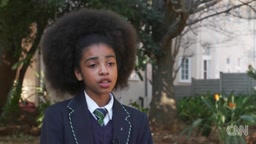 South Africans are protesting after students say they were told their hair is