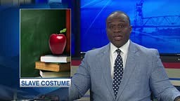 Student dresses as a SLAVE for schools Decades Day and gets asked to change his close
