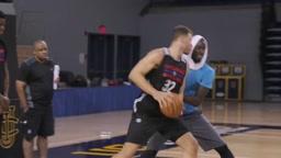 Kevin Garnett Teaches Blake Griffin Post Moves