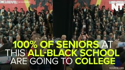 Every single graduating senior at this majority black high school is going to college