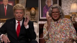 Donald Trump meets Madea starring Jimmy Fallon and Tyler Perry
