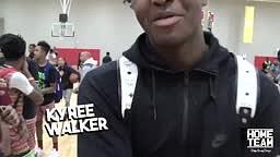 H.O.R.S.E Kyree Walker vs Jaden Newman & Julian Newman Breaks Kids Ankles