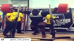 Ray Williams is the first person to squat over 1000lb RAW with no wraps