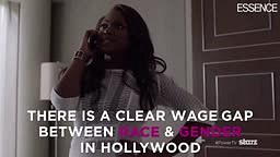 Black and female Actors are still way under paid compare to White Actors