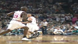 Michael Jordan and Penny Hardaway steal the show at charity game in 1994!
