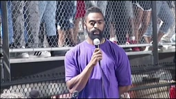 Olympian Tyson Gay Speaks At Vigil For Slain Daughter About Stopping Gun Violence