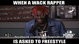 When a WACK RAPPER is asked to Freestyle Starring Lil Yachty