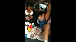 Rihanna Gets HIGH AS A KITE and Freestyles in Uber Car Ride