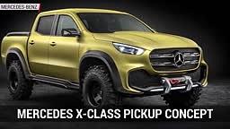 ITS HERE! NEW Mercedes Benz TRUCK Concept X-Class