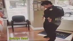 WATCH: Baltimore City Police Officer Does The JUJU ON THAT BEAT Dance!!