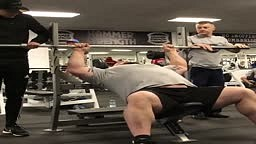 Weightlifter Bench Presses TWO MEN! Who Needs Weights w/ Eddie Hall