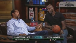Inside The NBA Kevin Garnett and Sheed use The Cuss Button