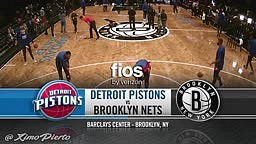 Detroit Pistons vs Brooklyn Nets - 1st Half Highlights 2016-17 NBA Season