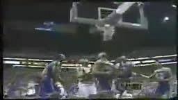 Knicks v Suns 1993 Doc v KJ Fight!