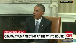 President Obama meets with President-elect Donald J. Trump at the White House