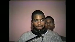 Throwback: Ice Cube Speaking at Nation of Islam 'Today I'm A Blood and a Crip'