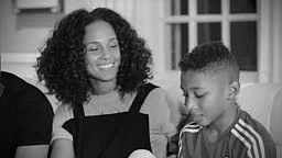 Alicia Keys Feat. A$AP Rocky 'Blended Family' Video