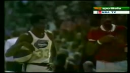 First Dunk Contest Dr J VS David Thompson 1976