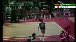 First Dunk Contest Dr J VS David Thompson 1976