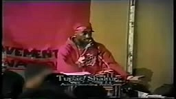 In 1992, the Malcolm X Grassroots Movement invited Tupac to speak at its banquet in Atlanta