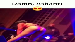 UH OH! Singer Ashanti Twerking at her live shows now