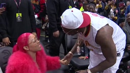 Gucci Mane proposes to girlfriend at Atlanta Hawks game