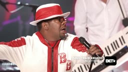 Bobby Brown, Teddy Riley Perform _My Prerogative_ at Soul Train Awards 2016