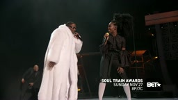 Brandy & Mase Perform _Top Of The World_ At Soul Train Awards 2016