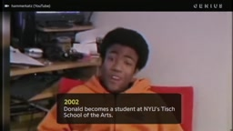 Childish Gambino been on his grind since birth